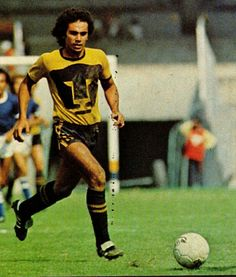 Hugo Sanchez of UNAM & Mexico in 1981.