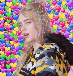 New memes heart billie eilish ideas Billie Eilish, New Memes, Funny Memes, Sapo Meme, Heart Meme, Heart Emoji, Cute Love Memes, Dibujos Cute, Partys