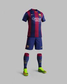 FC Barcelona new kit for the 2014/15 season Full Set