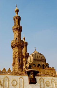 """Al Azhar Mosque, Cairo, Egypt (""""Orient's Sorbonne"""", QUEIRÓS, Eça de, Cartas de Inglaterra (""""Letters from England""""))."""