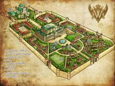 World Academy Map by koulin