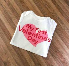 My First Valentine's Day Bodysuit for Baby!