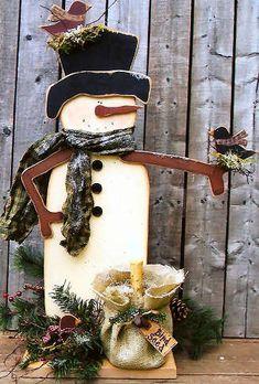 Wood Snowman & Birdie Friends, Snowmen & Frosty Friends Craft