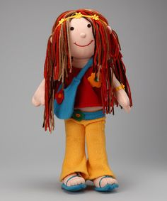 Take a look at this Anatina Toys Fashion Hippy Doll on zulily today!