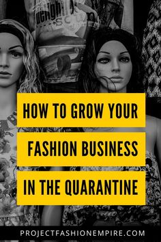 Fashion business owners and fashion designers. Here's the action plan to skyrocket your fashion business and hone into fashion marketing on quarantine.