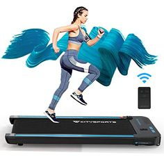 CITYSPORTS Treadmill, Under Desk Treadmill, Working Treadmills For Running, LCD Treadmill For Home Running Machine With… CLEVER, SPACE SAVING DESIGN: The Treadm... Office Exercise Equipment, No Equipment Workout, Running Machines, Workout Machines, Electric Treadmill, Folding Treadmill, Daily Exercise Routines, Training Equipment, Electric Motor