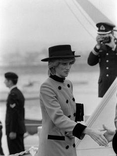 Prince Charles Princess Diana July 1983 Royal Visits Canada