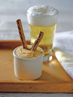 Beer Cheese Dip recipe for your Fathers Day get-together>> http://www.hgtv.com/holidays-and-entertaining/beer-cheese-recipe/index.html?soc=pinterest