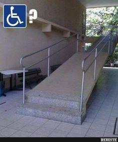 Die Stufen schützen vor Abnutzung..