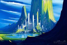 art paintings fantasy landscapes mountains fog mist castle free desktop backgrounds and wallpapers Fantasy Drawings, Fantasy Kunst, Fantasy Art, Art Drawings, Fantasy Landscape, Landscape Design, Sleeping Beauty Castle, Fantasy Castle, Environment Concept Art