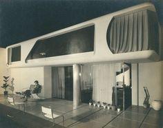 "Friedrich Kiesler, ""Space House"", Modernage Furniture Company, New York, 1933"