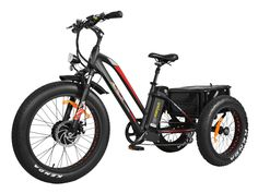 Addmotor Electric Tricycle Trike Three Wheel Fat Tire Electric Bicycle Rear Basket Cargo E-bike Scooters, Electric Tricycle, 3 Wheel Electric Bike, Electric Vehicle, Electric Scooter, Tricycle Bike, Tracker Motorcycle, Electric Mountain Bike, Third Wheel
