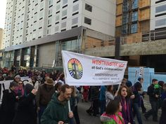 Westminster UCC marches in the MLK parade, 2015 - Jan Shannon photo