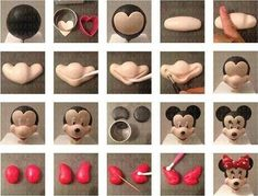 Ideas cake fondant mickey mouse for 2020 Bolo Fondant, Fondant Cake Toppers, Fondant Cakes, Mickey Cakes, Mickey Mouse Cake, Minnie Mouse Cake, Cake Decorating Icing, Fondant Decorations, Cake Decorating Tutorials