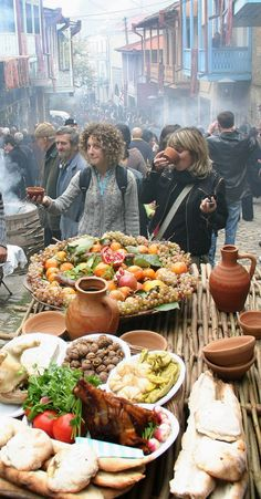 Tbilisi. City Festival #Georgian #Tbilisi #GeorgianCuisine