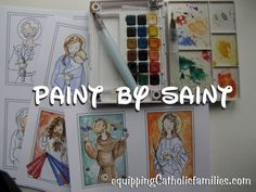 The third Saints Craft Kit in the series with 22 Saints presented with profiles in postcards and research project formats for home or the classroom!