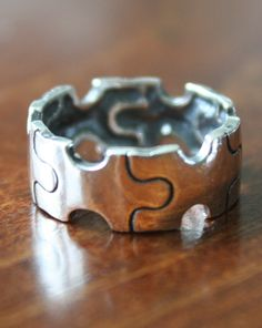 This Autism Awareness Ring makes a great keepsake jewelry gift.   The puzzle piece has become the symbol of support for autism awareness.