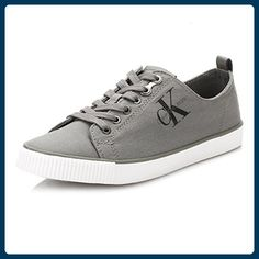 Calvin Klein Jeans Damen Grau Dora Leinwand   Leinen Sneakers-UK 5 -  Sneakers für frauen ( Partner-Link) 540c62ffc1