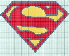 Gráficos ponto cruz da drica: Heróis