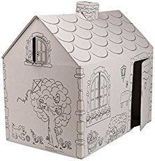 My Very Own House Coloring Playhouse, Cottage   casa de juegos ...