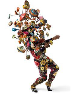 2013, Sound Suit par Nick Cave.  Photo : Nick Cave.