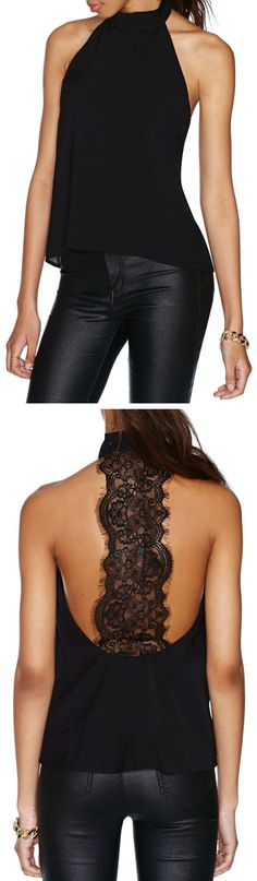Lace Back Top ♥