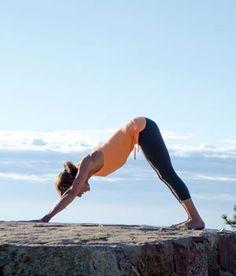 Six Yoga Poses for Climbers: Downward Dog. www.climbing.com/skill/question-of-balance/