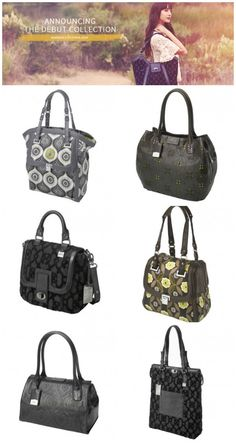 Debut Collection from Petunia Handbags - gorgeous!