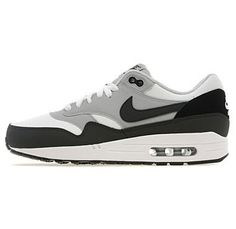 info for ad233 26728 Nike Men s Air Max 1 Running Shoes White Anthracite Wolf Grey uk cheap