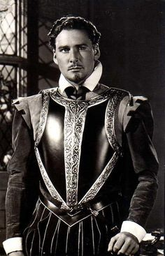 Errol Flynn, The Private Lives of Elizabeth and Essex, 1939.