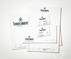 Papelería Corporativa. TIERRAS INÉDITAS Agencia mayorista de viajes de aventura - www.versal.net • Diseño Gráfico • Identidad Visual Corporativa • Publicidad • Diseño Páginas Web • Ilustración • Graphic Design • Corporate Identity • Advertising • Web Pages • Illustration • Logo
