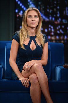 Scarlett Johansson - Celebs Stop by 'Late Night With Jimmy Fallon'