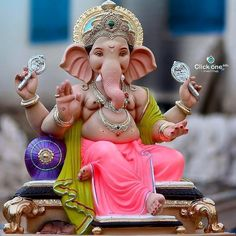 Image may contain: 1 person Ganesh Pic, Shri Ganesh Images, Ganesh Lord, Sri Ganesh, Ganesh Idol, Ganesha Pictures, Ganesh Statue, Ganesha Art, Ganpati Bappa Wallpapers