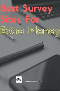 The Best Online Paid Survey Sites to Join for Making Extra Cash. In this post you'll learn what the best free online survey / rewards sites to join and make extra money are. Each of the companies and websites listed are legitimate sites that you can join and begin making money. I recommend signing up for all of them! Enjoy!  #personalfinance