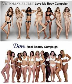 Real Dove beauty campaign