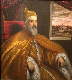 Portrait of Doge Marino Grimani by Domenico Tintoretto, Cincinnati Art Museum