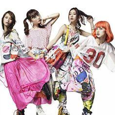 Scandal Yoake No Ryuuseigun Poster Scandal Japanese Band, Mami Sasazaki, Blog Wallpaper, Band Wallpapers, Street Performance, Scarf Shirt, Quirky Fashion, Mini Skirts, Female