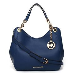 Welcome To Our Michael Kors Tonne Saffiano Logo Large Navy Hobo Online Store