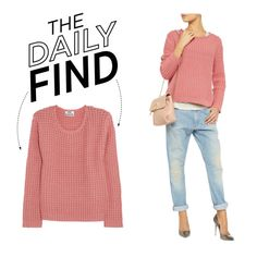 """""""The Daily Find: Acne Chunky-Knit Sweater"""" by polyvore-editorial on Polyvore"""