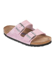 Take a look at this Passion Flower Suede Arizona Slide - Women by Birkenstock on #zulily today! $67.99