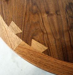 Dovetail joinery.
