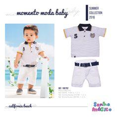 Moda Bebê | Moda Baby | Look Para Menino