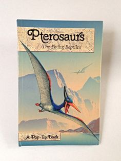Vintage Popup Book  Pterosaurs The Flying by VintageHappinessTime, $5.00