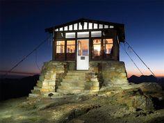 Montana Fire Lookouts   Unique Cabins