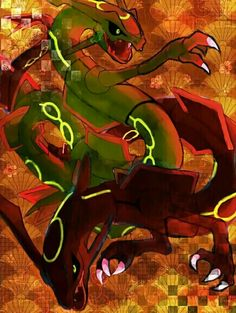 alternative-pokemon-art: Artist Shiny Rayquaza by request. Dragon Type Pokemon, Pokemon 20, Pokemon Stuff, Rayquaza Wallpaper, Mega Rayquaza, Pokemon Champions, Mudkip, Fire Dragon, Catch Em All