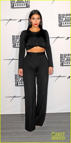 Kim Kardashian attending a party at Toko Dubai restaurant