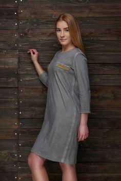 Kolekcja Jesień – Zima – Lamers – Polski Producent odzieży z tkanin naturalnych Cold Shoulder Dress, Dresses, Fashion, Tunic, Vestidos, Moda, Fashion Styles, Dress, Fashion Illustrations