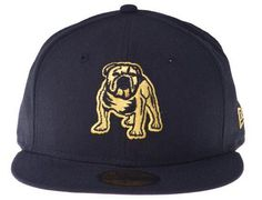 Gold Canterbury Bulldogs 59Fifty Fitted Baseball Cap by Custom NEW ERA x NRL