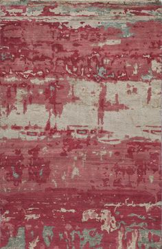 Asher Hand-KnottedRed Area Rug