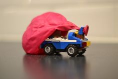 Science for Kids – How to make a Balloon Powered Car Science for Kids – How to make a Balloon Powered Car Balloon powered LEGO car - Practical Lego Cars Lego Balloons, Balloon Cars, The Balloon, Lego Autos, Balloon Powered Car, Lego Cars, Lego Activities, Five In A Row, Force And Motion